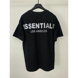 FEAR OF GOD - fog essentials エッセンシャルズ Tシャツ LA限定モデル 黒S