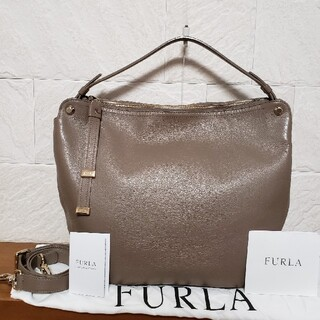 Furla - FURLA  3way  レザーショルダーバッグ
