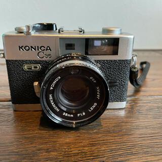 コニカミノルタ(KONICA MINOLTA)のKONICA C35 FD HEXANOX 38mm F1.8(フィルムカメラ)