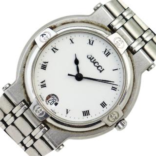 グッチ(Gucci)のグッチ GUCCI ラウンドウォッチ 腕時計 メンズ【中古】(腕時計(アナログ))