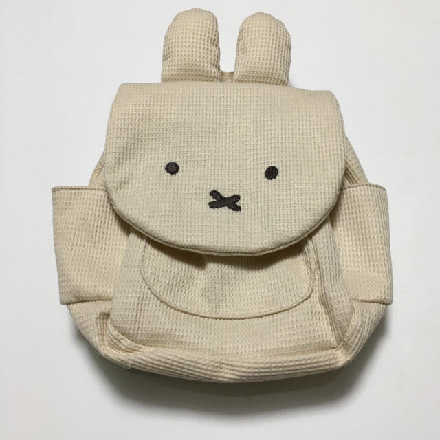 しまむら(シマムラ)のミッフィー リュック バースデイ キッズ/ベビー/マタニティのこども用バッグ(リュックサック)の商品写真