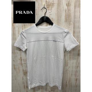 プラダ(PRADA)のPRADA プラダ レディース Tシャツ 半袖 カットソー ワンポイント(Tシャツ(半袖/袖なし))