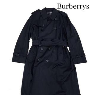 BURBERRY - [美品] Burberrys バーバリーズ トレンチコート ネイビー ロング丈