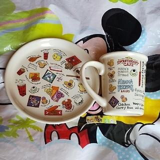 Disney - ディズニー パークフード スーベニアカップ プレート
