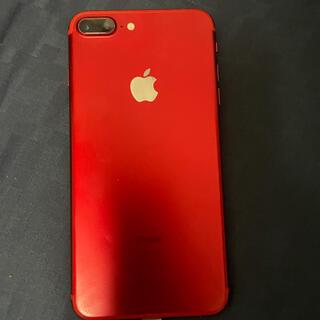 Softbank - iPhone7plus レッド128GB