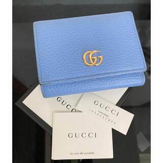 Gucci - GUCCI グッチ474746 CAO0G プチGGマーモントミニウォレット財布