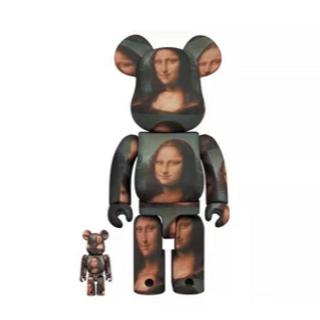 メディコムトイ(MEDICOM TOY)のBE@RBRICK LEONARD DE VINCI Mona Lisa400%(その他)