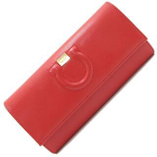 フェラガモ(Ferragamo)の フェラガモ 二つ折り長財布 ガンチーニ 22C827(財布)