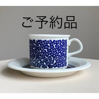 アラビア(ARABIA)のファエンツァ コーヒーカップ&ソーサー アラビア 1(食器)