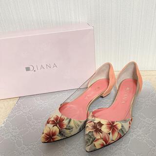DIANA - ダイアナ 花柄 フラワー パンプス