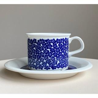 アラビア(ARABIA)のファエンツァ コーヒーカップ&ソーサー アラビア 2(食器)