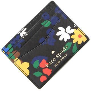 ケイトスペードニューヨーク(kate spade new york)の ケイトスペード カードケース WLR00495 ブラック(名刺入れ/定期入れ)
