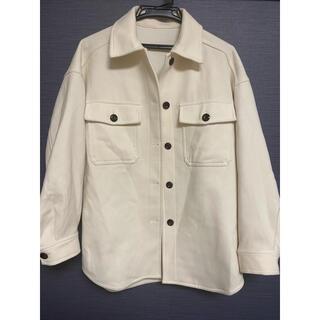 ジーユー(GU)のジャケットオーバーサイズコート(スプリングコート)