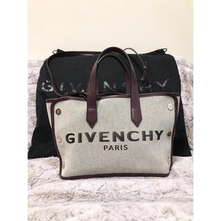 GIVENCHY - GIVENCHY ジバンシー  キャンバス ミニ ボンド キャンバス  バッグ