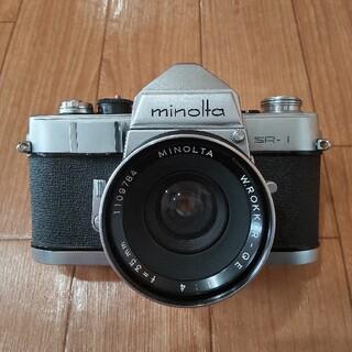 コニカミノルタ(KONICA MINOLTA)のminolta SR-1 ミノルタ フィルムカメラ アンティーク(フィルムカメラ)