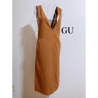 ジーユー(GU)のジャンパードレス(その他)