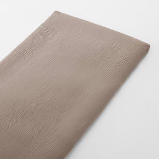 MUJI (無印良品) - 綿三重ガーゼ敷ふとんシーツ・ゴム付き・S