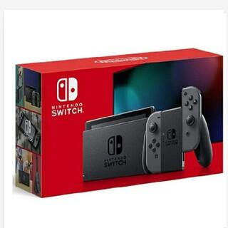 Nintendo Switch - 新品未開封 任天堂スイッチ本体 新型 グレー switch