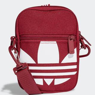 アディダス(adidas)のadidas FEST BAG TREF バーガンディー(ショルダーバッグ)