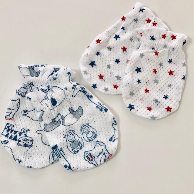 赤ちゃん用ミトン キッズ/ベビー/マタニティのこども用ファッション小物(手袋)の商品写真