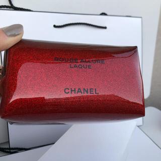 シャネル(CHANEL)のシャネル クリスマス限定 ノベルティ ポーチ 箱付き正規品(ポーチ)