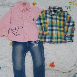 ダブルビー(DOUBLE.B)のシャツ&パンツ(ブラウス)