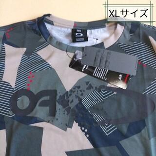オークリー(Oakley)のオークリー Tシャツ、グラフィックTシャツ、ビッグロゴTシャツ、XLサイズ(Tシャツ/カットソー(半袖/袖なし))