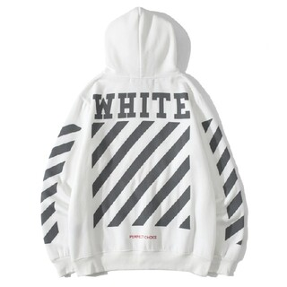 オフホワイト(OFF-WHITE)の人気OFF-WHITE パーカー 男女兼用(パーカー)
