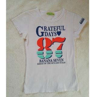 半袖Tシャツ 白ティー ラメプリント(Tシャツ(半袖/袖なし))