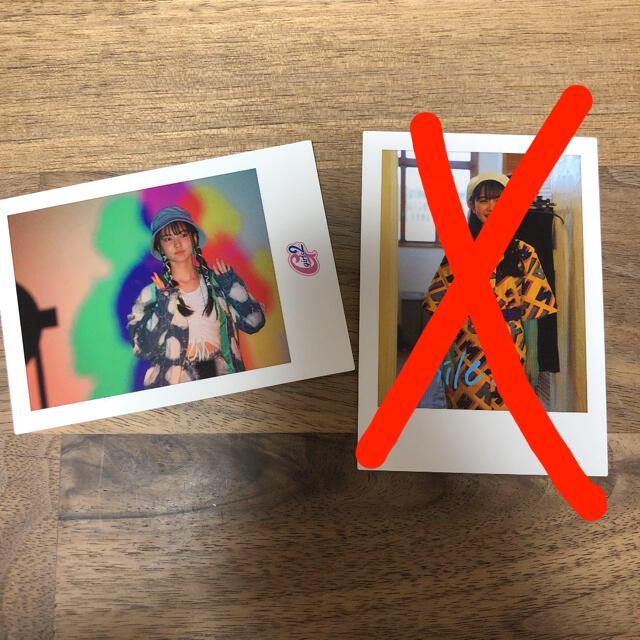 girls2☆フォトカード☆菱田未渚美☆みなみ エンタメ/ホビーのタレントグッズ(アイドルグッズ)の商品写真