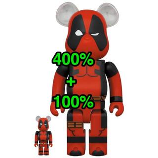 MEDICOM TOY - 新品未開封 BE@RBRICK DEADPOOL 100% & 400%