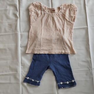 スーリー(Souris)のSouris サイズ 110 半スボン&半袖Tシャツ セット(その他)