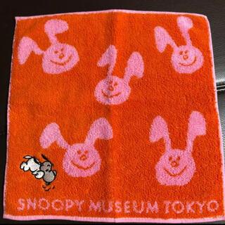 スヌーピー(SNOOPY)の【新品】スヌーピーミュージアム♡ ハンドタオル(ハンカチ)