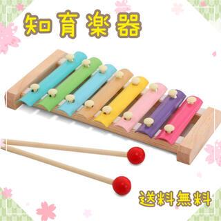 知育玩具 楽器 鉄琴 木琴 音感 リズム感 音楽 赤ちゃん 子供 パステル(楽器のおもちゃ)