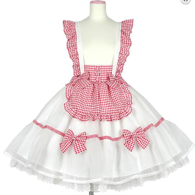 Angelic Pretty(アンジェリックプリティー)のふんわりパフェカットソー&スカート・クリップセット レディースのスカート(ミニスカート)の商品写真