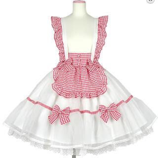 Angelic Pretty - ふんわりパフェカットソー&スカート・クリップセット