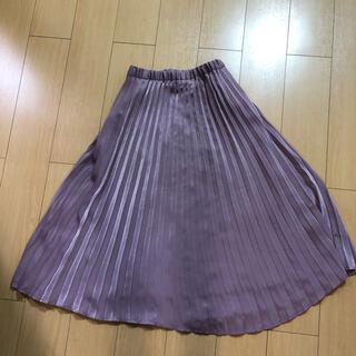 グローブ(grove)のプリーツスカート(ひざ丈スカート)
