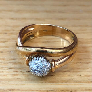 リング 指輪 ダイヤ K18 ⑵