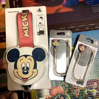 ディズニー(Disney)のディズニー 一眼レフストラップ カメラストラップ カメラキャップ(デジタル一眼)