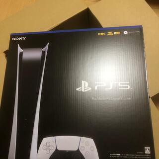 PlayStation - 新品 PlayStation5 デジタルエディションCFI-1000B01