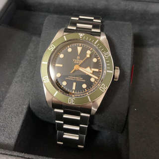 Tudor - 限定品 Tudor Black Bay Green Harrods 79230G