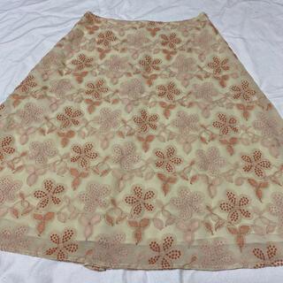 シビラ(Sybilla)のシビラ 刺繍入りスカート(ひざ丈スカート)