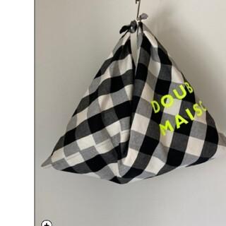 mina perhonen - 【お取り置き】DOUBLE MAISONドゥーブルメゾン/オリジナルあづまバッグ