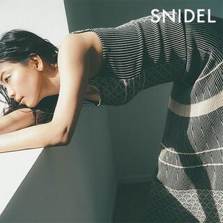 snidel - ニットSNIDEL スカート ニットタンク セットアップ ロングスカート