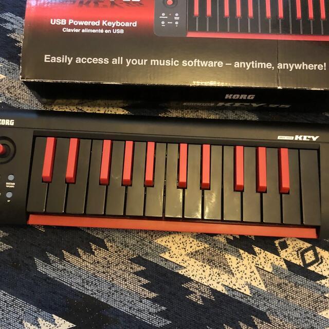 KORG(コルグ)のmicro korg key25 楽器のDTM/DAW(MIDIコントローラー)の商品写真