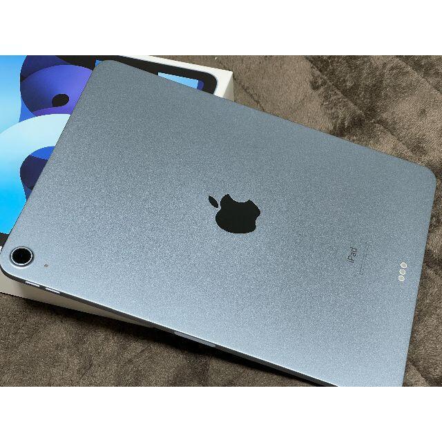 Apple(アップル)のiPad Air 4 スカイブルー 64GB スマホ/家電/カメラのPC/タブレット(タブレット)の商品写真