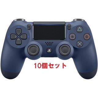 純正 PS4 コントローラー (DUALSHOCK 4)  ミッドナイト・ブル-