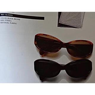 W)taps - WTAPS サングラス Tet/Glasses Brown タグ付 未使用 美品
