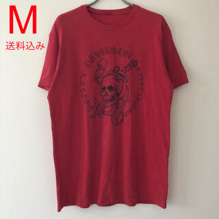 Harley Davidson - Harley Davidson Tee Red ハーレーダビッドソン Tシャツ