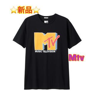 ジーユー(GU)の⭐️新品未使用⭐ GU X MTV Tシャツ(Tシャツ/カットソー(半袖/袖なし))